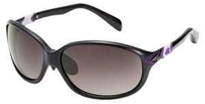 女性用偏光サングラスフレームカラー:BLACK×PURPLE