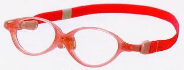 治療を目的にした乳児用メガネフレーム