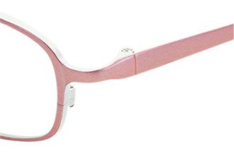 型崩れしにくいプラスチックパッド採用のキッズ眼鏡