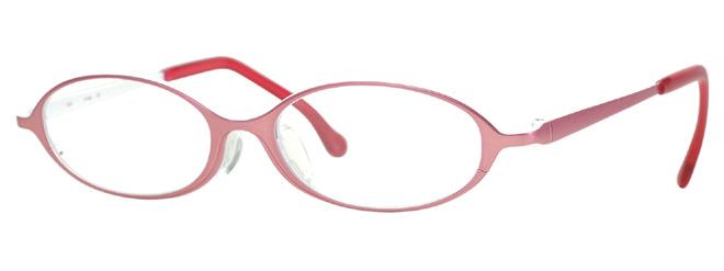 小児の顔のことを考慮して製作した眼鏡枠