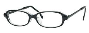 流行のデザインを取り入れた子供用治療眼鏡