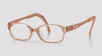 ファッション的な治療を目的にした子ども用メガネ