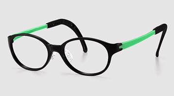 ジュニア用弱視眼鏡に適したフレーム