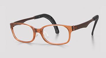 ジュニア向き弱視眼鏡フレーム