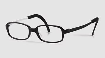弱視に適したジュニア用眼鏡フレーム