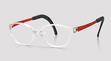弱視メガネに適したジュニア用メガネ