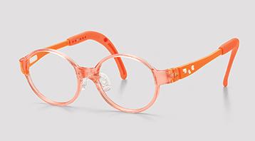 おしゃれな治療用子供メガネ