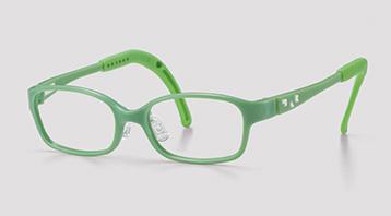 キュートなこども用治療メガネ