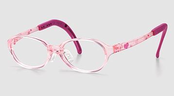 遠視の女の子用眼鏡フレーム