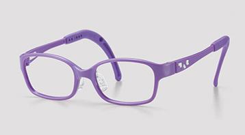 おしゃれなかわいい子供用メガネ