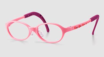 弱視に適した女の子の眼鏡枠