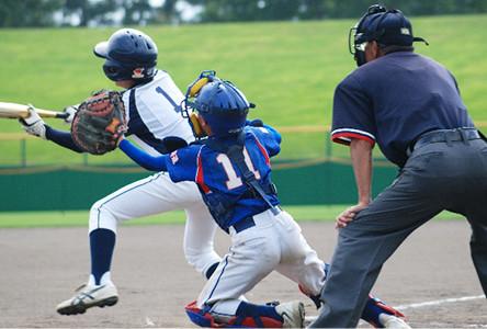 野球どきの保護眼鏡